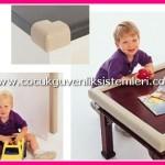 çocuk mobilya kenar güvenlik minderi