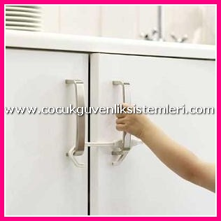 Baby cabinet locks magnetic