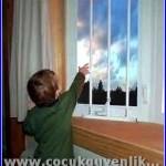 çocuk için pencere güvenliği
