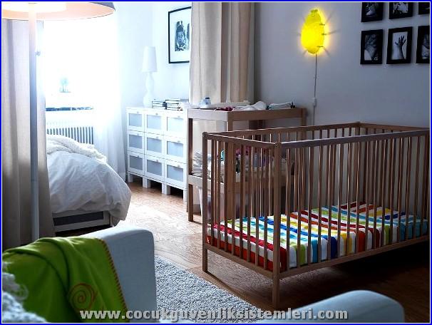 çocuk için yatak odası güvenliği
