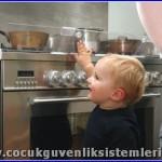 bebek mutfak güvenliği